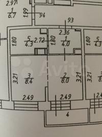 Продается 1-комнатная квартира, 25.6 кв.м, Озёрная ул.