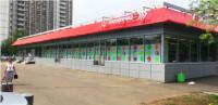 Одноэтажное отдельно стоящее здание свободной планировки общей площадью 1 013 кв