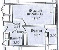 Продается 1-комнатная квартира, 38.5 кв.м, ул. Харлампиева