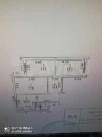 Продается 3-комнатная квартира, 73.5 кв.м, Скобелевская ул.