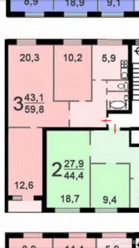 Продается 1-комнатная квартира, 20 кв.м, Зеленоград