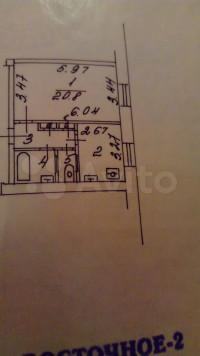 Продается 1-комнатная квартира, 39.8 кв.м, Измайловский б-р