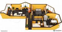 Продается 2-комнатная квартира, 64 кв.м, Боровское ш.