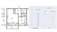 Продается 1-комнатная квартира, 42.9 кв.м, ул. Хачатуряна