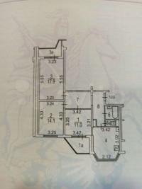 Продается 3-комнатная квартира, 77.3 кв.м, Бескудниковский б-р