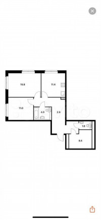 Продается 2-комнатная квартира, 67.9 кв.м, Георгиевский пр-т