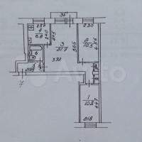 Продается 3-комнатная квартира, 56 кв.м, Звёздный б-р