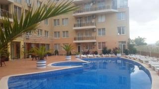 Квартира в Болгарии  2-комнатная  с двумя балконами 100 м2 Солнечный Берег