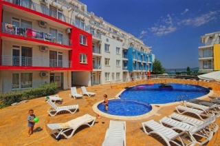 Квартира в Болгарии у моря Трёхкомнатная Солнечный Берег СД3