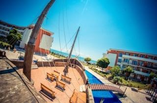 Квартира в Болгарии на первой линии море в Елените двухкомнатная