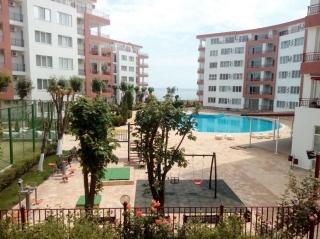 Квартира в Болгарии Двухкомнатная меблированная с видом на море Равда.
