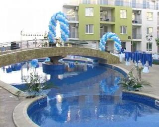 Недорогая двухкомнатная квартира в Болгарии Солнечный Берег.  3