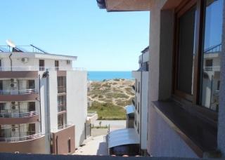 Трёхкомнатная меблированная квартира в Болгарии на берегу моря. ПРИМОРСКО