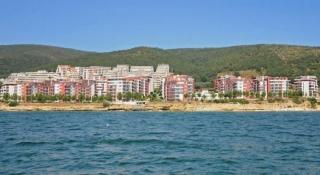 Студия в Болгарии на первой линии моря. Елените. Панорама Ф.Н
