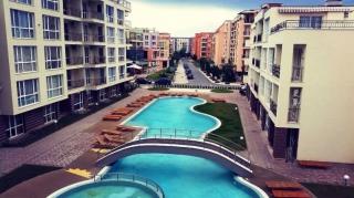 Купить квартиру в Болгарии Солнечный Берег.  Двухкомнатная