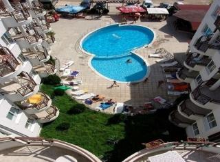 Трёхкомнатная квартира в Болгарии на побережье Святой Влас Виста.