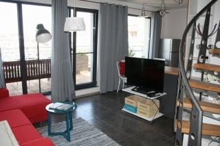 Двухуровневая квартира в Болгарии с мебелью в Сарафово.