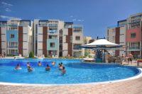 недвижимость в Болгарии  Солнечный берег большая двухкомнатная квартира с мебелью
