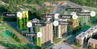ЖК Сказочный лес корпус Кипарис продается двухкомнатная квартира  в самом центре приволжского района.