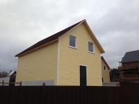 Недорогой деревянный дом | Купить дом из бруса под ключ | Дача в Московской области