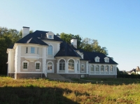 Купить дом 1413 кв.м., участок 60 сот., Славково, Новорижское шоссе 24 от МКАД. Дом с бассейном на Новой Риге.