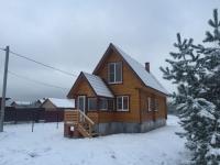 Новый зимний дом д. Бережки