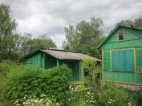 Летний домик и хоз.блок, на берегу реки Киржач