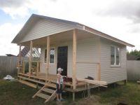 новый дачный домик