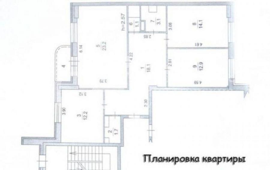 Продается трехкомнатная квартира: г.Щелково мкр.Богородский д.10к2, фото 5