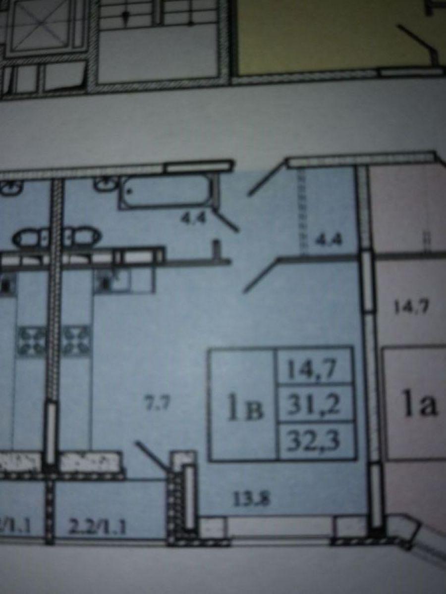 1-комнатная квартира поселок Свердловский ЖК Лукино-Варино ул.Заречная д.13, фото 4