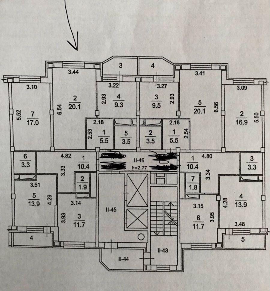 1-комнатная квартира п.Свердловский ЖК Лукино-Варино ул.Заречная д.7, фото 7