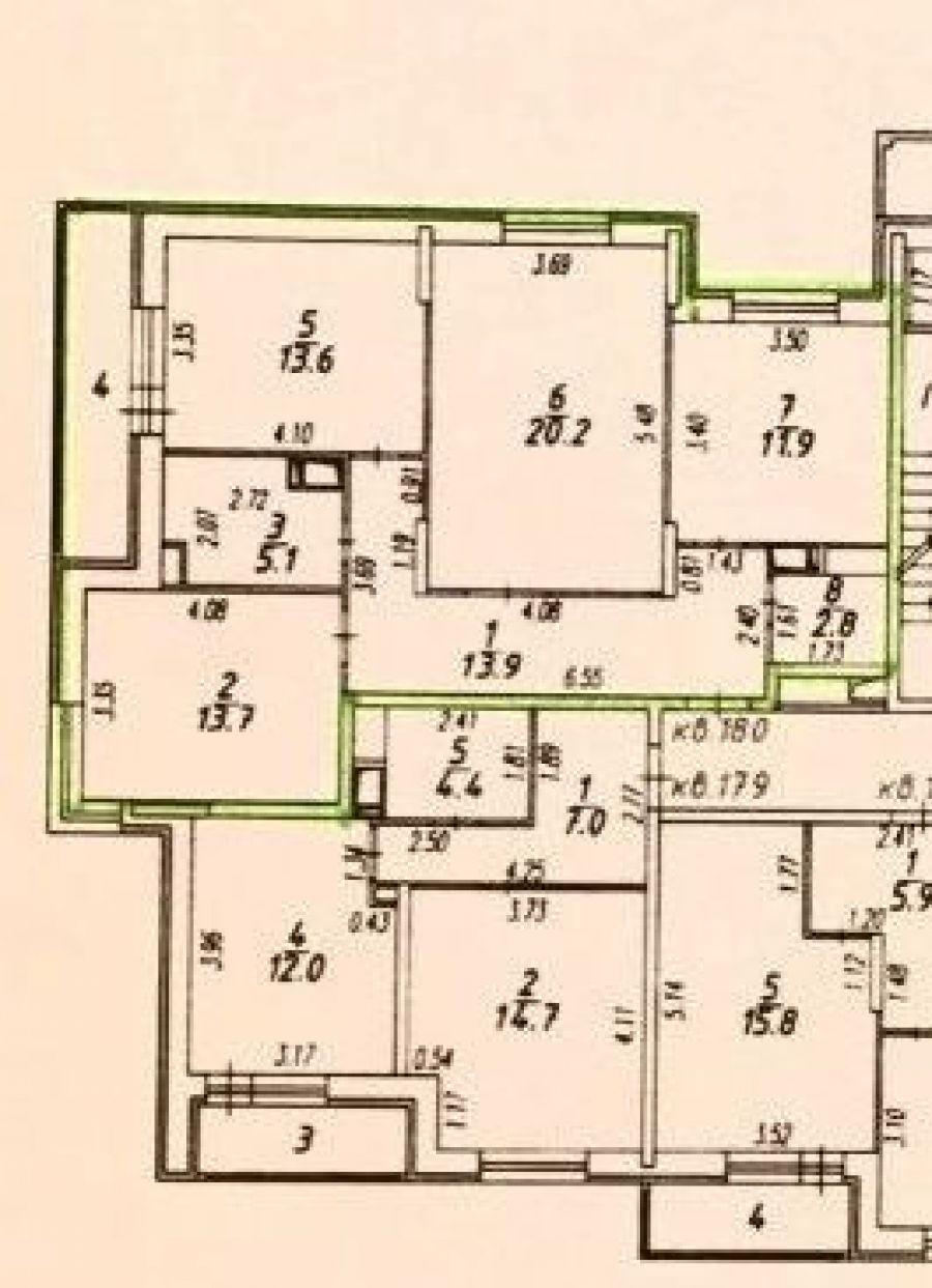 3-комнатная квартира п.Свердловский ЖК Лукино-Варино ул.Строителей д.14, фото 1