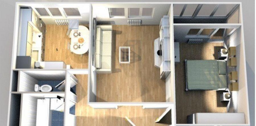 2-комнатная квартира  п. Аничково дом 6, фото 13