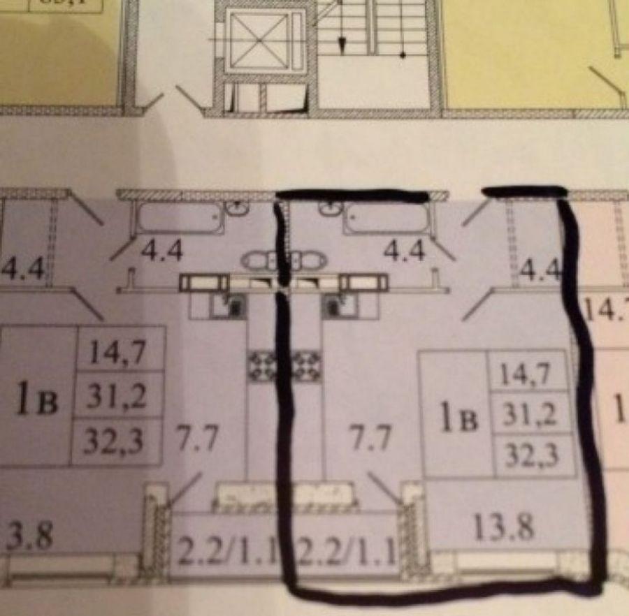 1-комнатная квартира п.Свердловский ЖК Лукино-Варино ул.Заречная д.13, фото 14