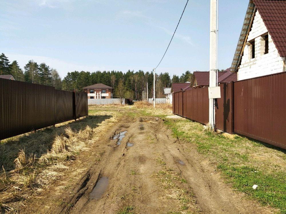 Земельный участок 6 соток Московская область Щелковский район д.Леониха, фото 9