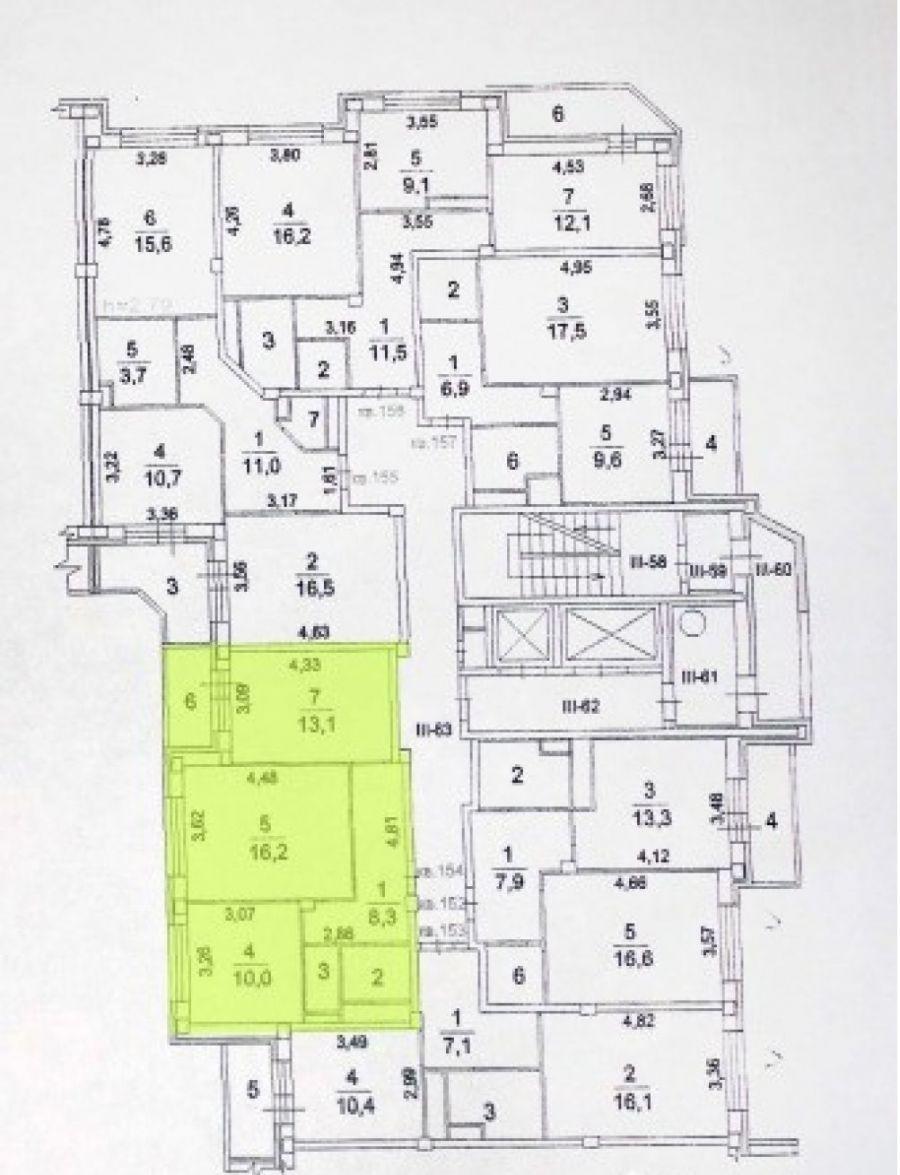 2-комнатная квартира  п. Аничково дом 6, фото 12