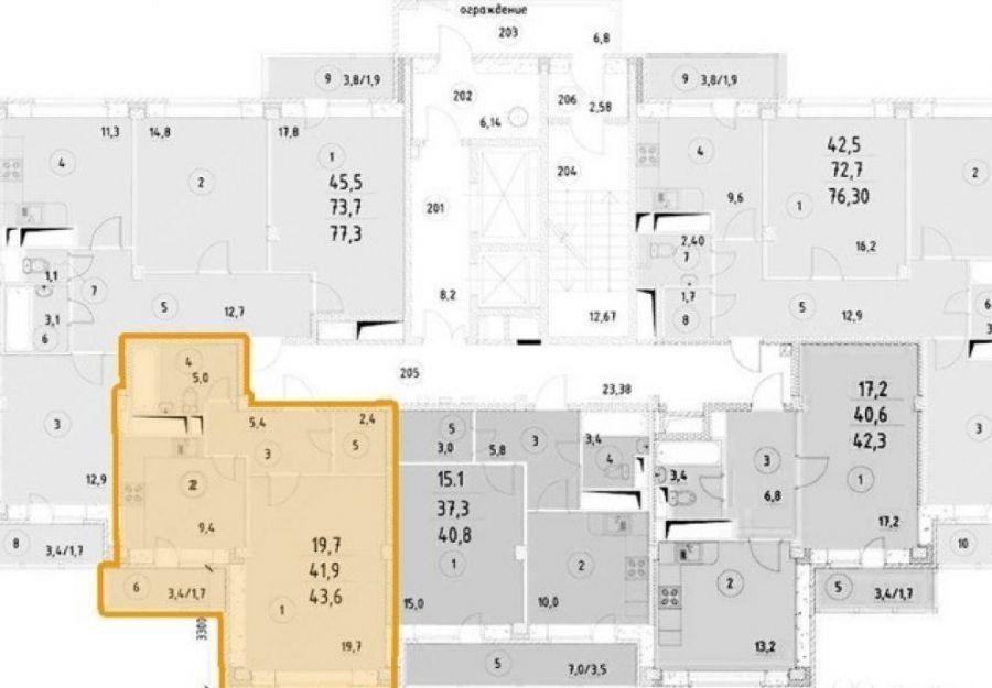 Продажа однокомнатной квартиры Московская область Щелковский район п. Свердловский ул. Заречная дом 1, фото 12