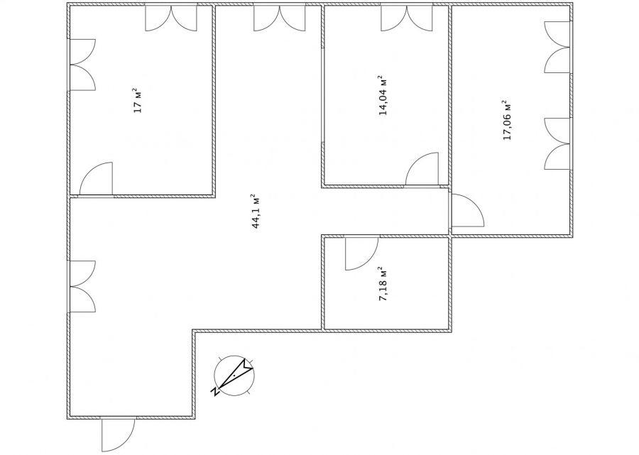 Продажа  трехкомнатная квартира Московская область Пушкинский район п.Зверосовхоза ул.Соболиная д.12., фото 10