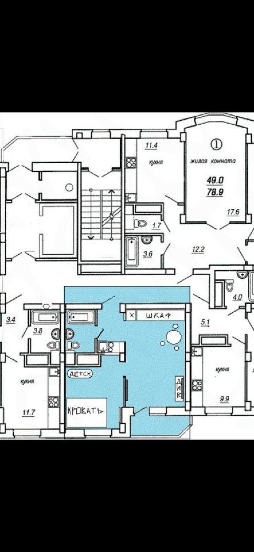 1-комнатная квартира п.Свердловский ЖК Свердловский ул.Народного Ополчения д.3, фото 15