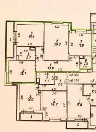 3-комнатная квартира п.Свердловский ЖК Лукино-Варино ул.Строителей д.14