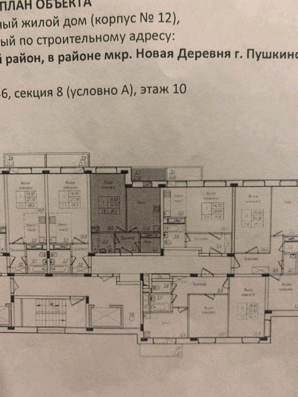 1-комнатная квартира г. Пушкино ЖК Новое Пушкино ул. Просвещения д.8к1, фото 4