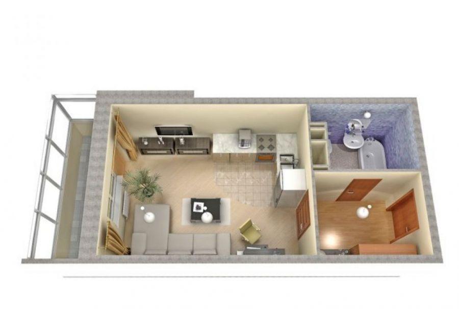 Продажа однокомнатная квартира Московская область г.Королев ул.Тарасовская д.25., фото 3