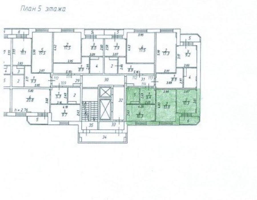 Продажа двухкомнатная квартира Московская область Пушкинский район п.Зеленоградский ул.Шоссейная д.1., фото 1
