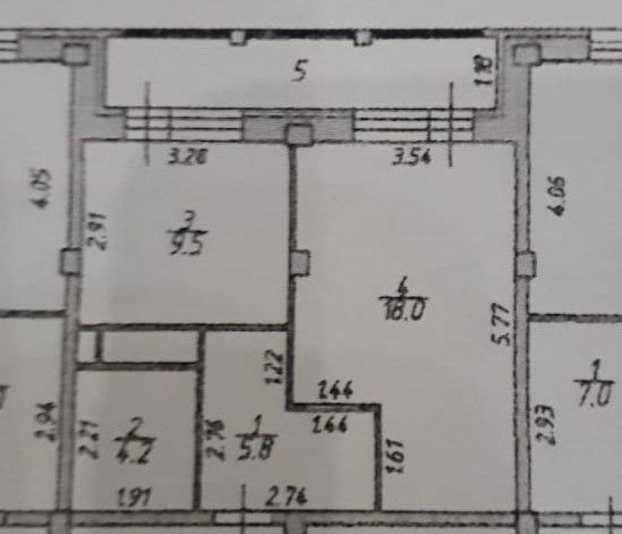 1-комнатная квартира п.Свердловский ЖК Лукино-Варино ул.Строителей 12, фото 9