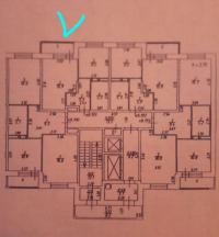 1-комнатная квартира п.Свердловский ЖК Лукино-Варино ул.Строителей д.22