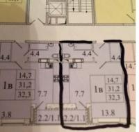 1-комнатная квартира п.Свердловский ЖК Лукино-Варино Щелковский район Московская область