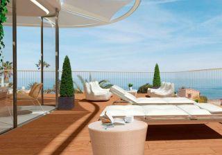 Новый комплекс апартаментов с видом на море в Дении