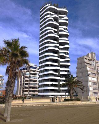 Новый дом в Кальпе - 200 м до пляжа