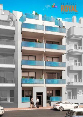 апартаменты на пляже Кура в Торревьехе