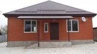Продам новый кирпичный дом в центре станицы Холмской.